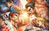 Street Fighter X Tekken wallpaper 1920x1080 jpg