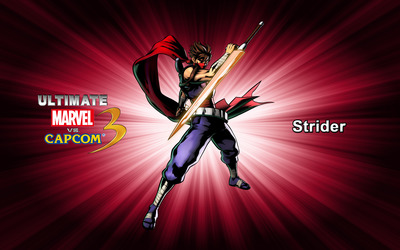 Strider - Ultimate Marvel vs. Capcom 3 wallpaper