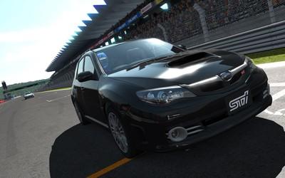 Subaru Impreza WRX STI in Gran Turismo 5 wallpaper