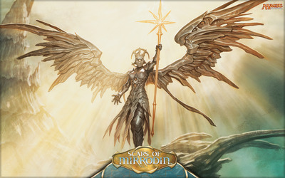Sunblast Angel - Magic: the Gathering wallpaper