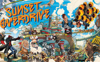 Sunset Overdrive wallpaper 1920x1080 jpg