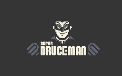 Super Bruceman wallpaper