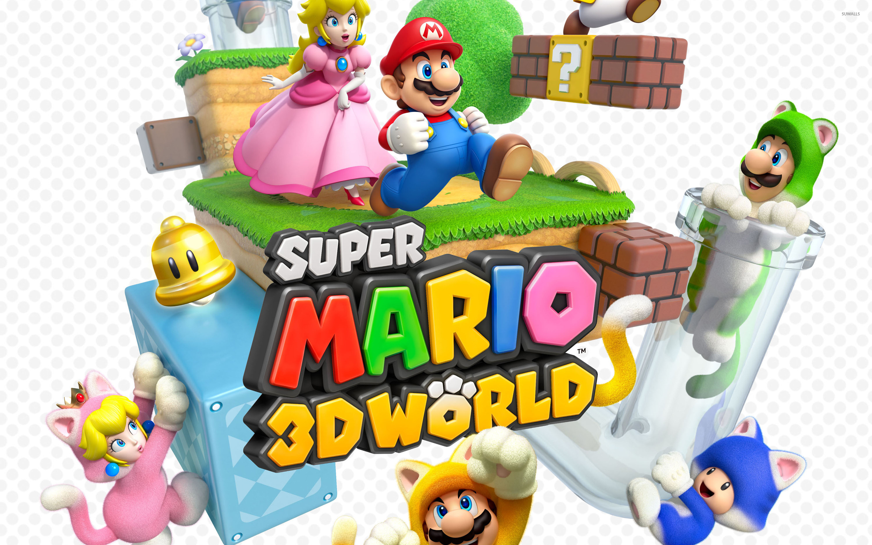 Super Mario 3d World Wallpaper Game Wallpapers 21460