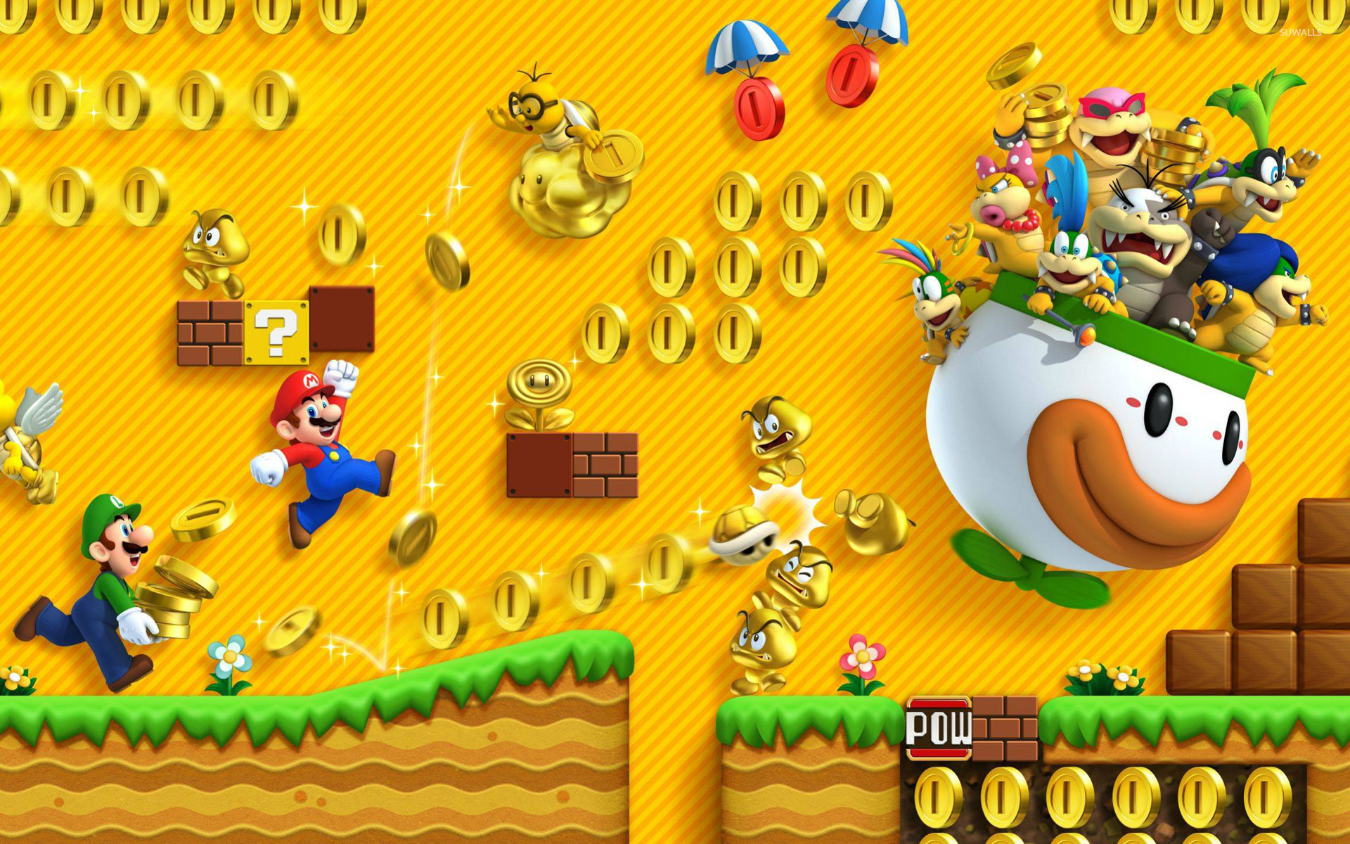 super mario bros 2 wallpaper game wallpapers 14849. Black Bedroom Furniture Sets. Home Design Ideas