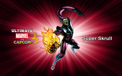 Super Skrull - Ultimate Marvel vs. Capcom 3 wallpaper
