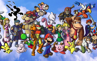 Super Smash Bros. [2] wallpaper 1920x1200 jpg