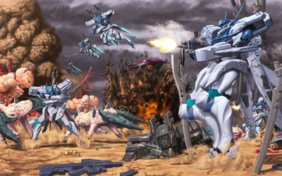 Tactical Surface Fighter - Muv-Luv [2] wallpaper