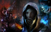 Tali - Mass Effect wallpaper 1920x1200 jpg