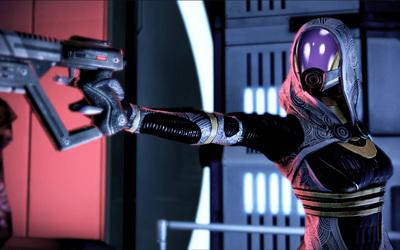 Tali'Zorah vas Neema - Mass Effect [5] wallpaper