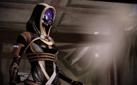 Tali'Zorah vas Neema - Mass Effect [3] wallpaper 1920x1080 jpg
