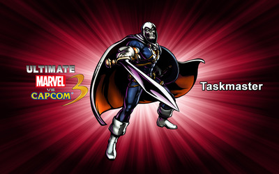 Taskmaster - Ultimate Marvel vs. Capcom 3 wallpaper