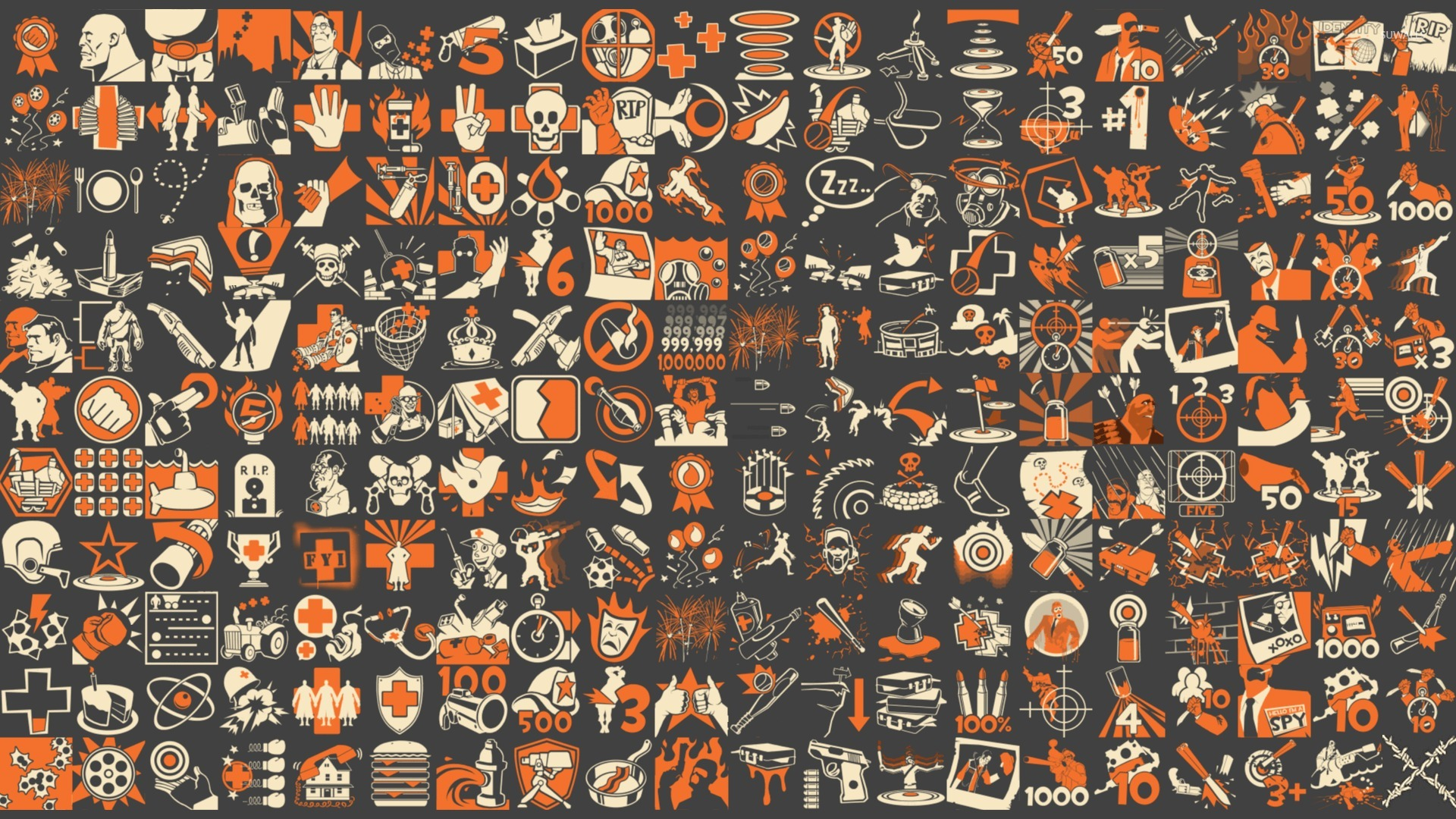 Team Fortress 2 Pattern Wallpaper Game Wallpapers 28759