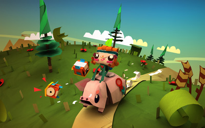 Tearaway wallpaper