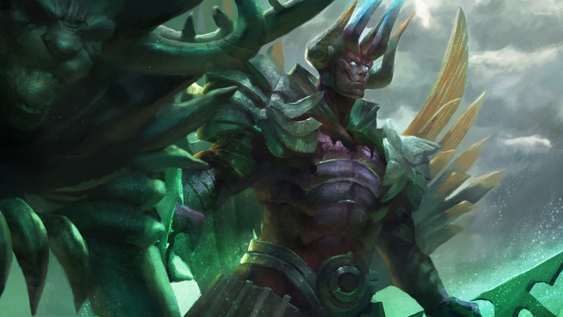 terrorblade in dota 2 wallpaper - game wallpapers - #54370