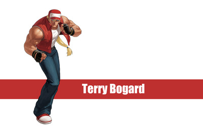 Terry Bogard - The King of Fighters wallpaper