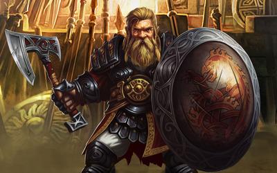 The Defender - Might & Magic X: Legacy wallpaper