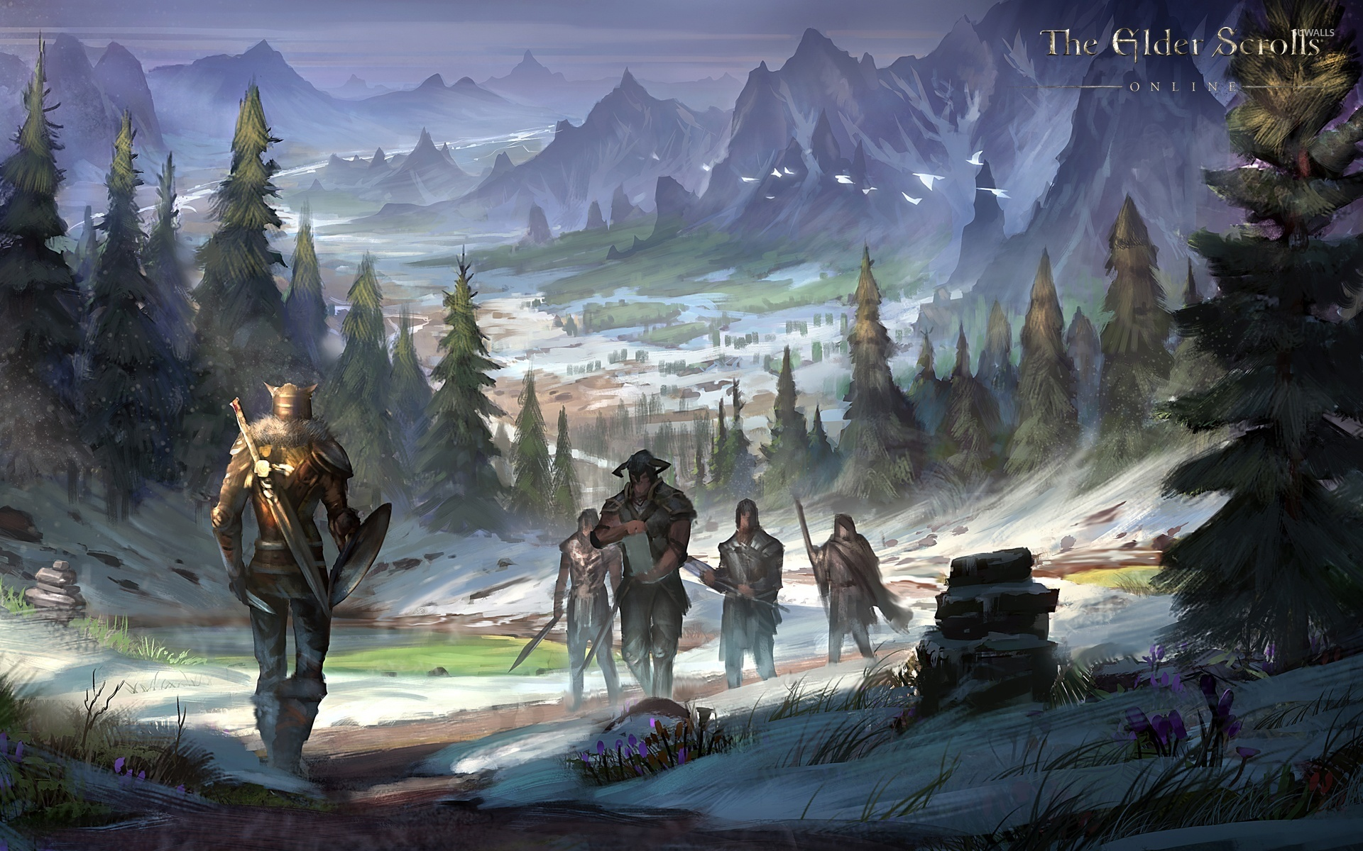 The Elder Scrolls Online 9 Wallpaper Game Wallpapers 21509