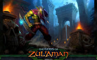 The Gods of Zul'Aman - World of Warcraft wallpaper 2560x1440 jpg