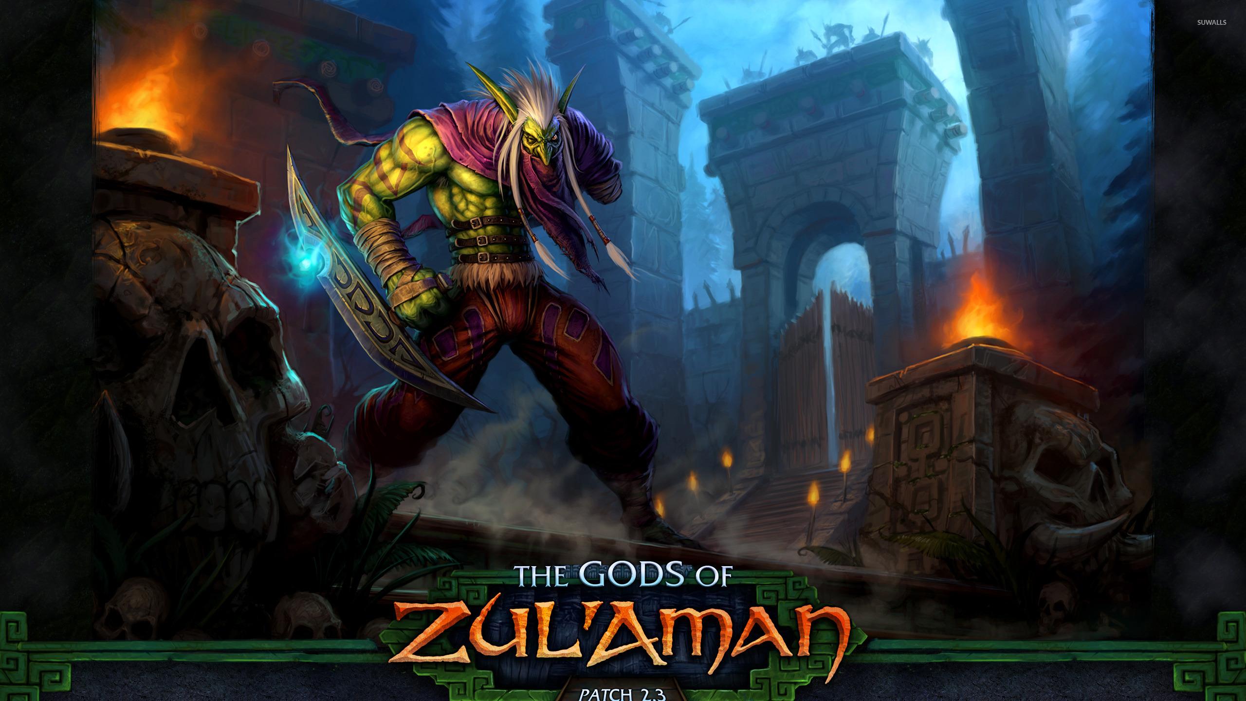 The Gods Of Zul Aman World Of Warcraft Wallpaper Game