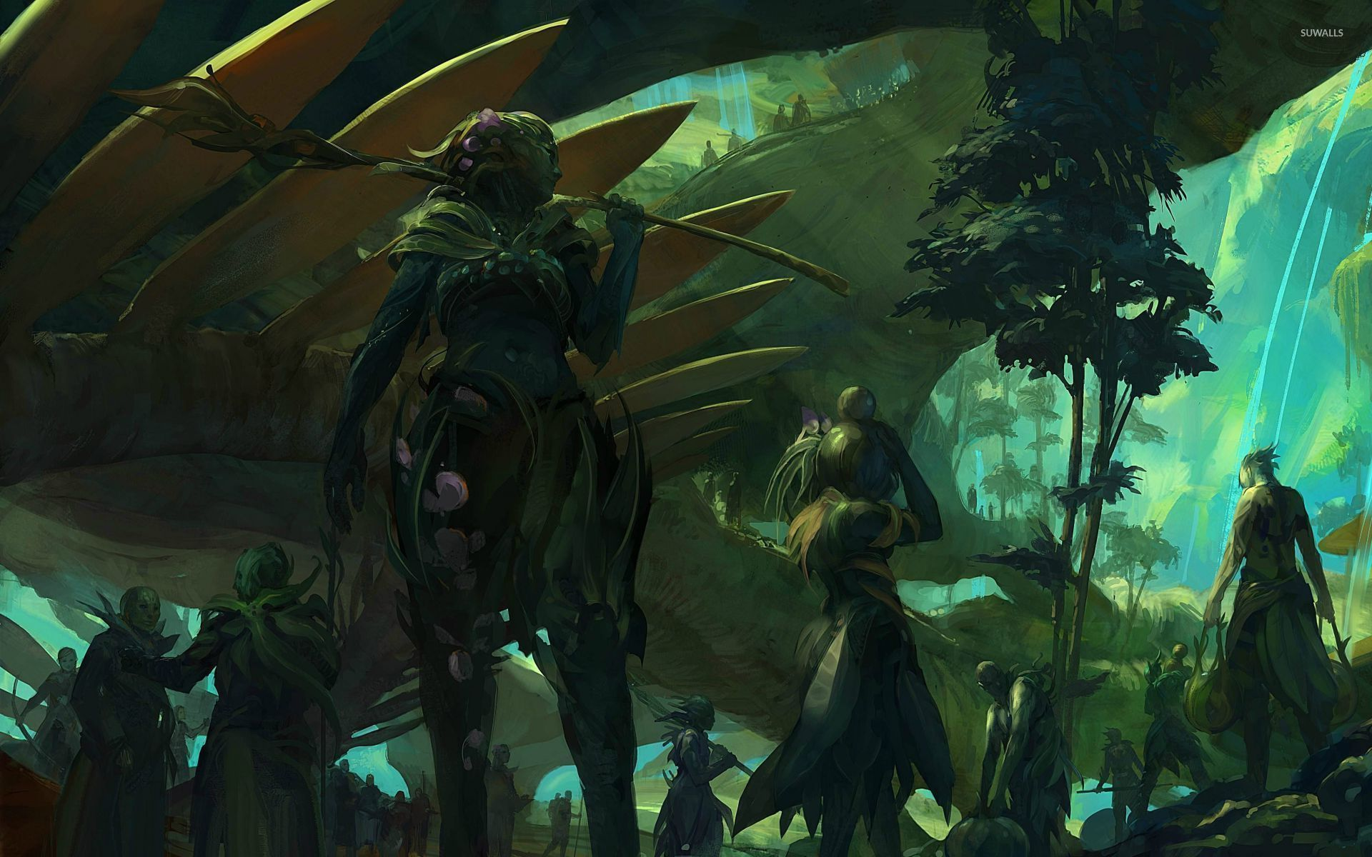 The Grove Guild Wars 2 Wallpaper Game Wallpapers 28700