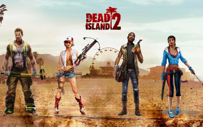 The heroes of Dead Island 2 wallpaper