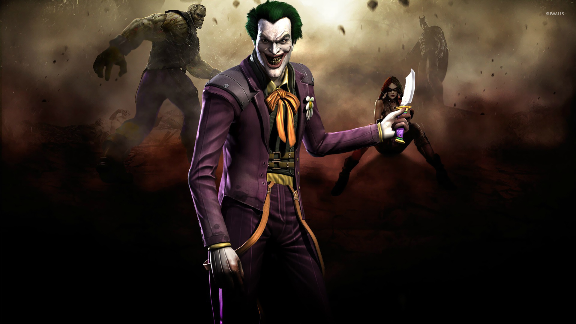 The joker injustice gods among us wallpaper game wallpapers the joker injustice gods among us wallpaper voltagebd Image collections