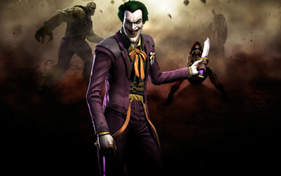 The Joker - Injustice: Gods Among Us wallpaper