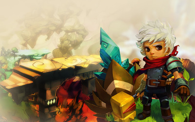 The Kid - Bastion [2] wallpaper