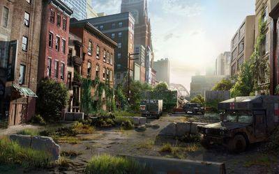 The Last of Us artwork wallpaper