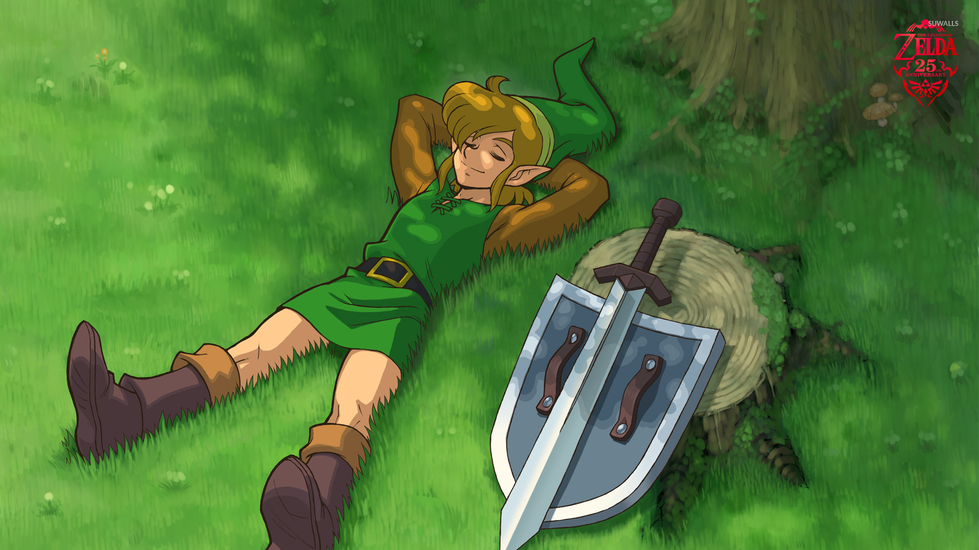 The Legend Of Zelda A Link To The Past Wallpaper Game