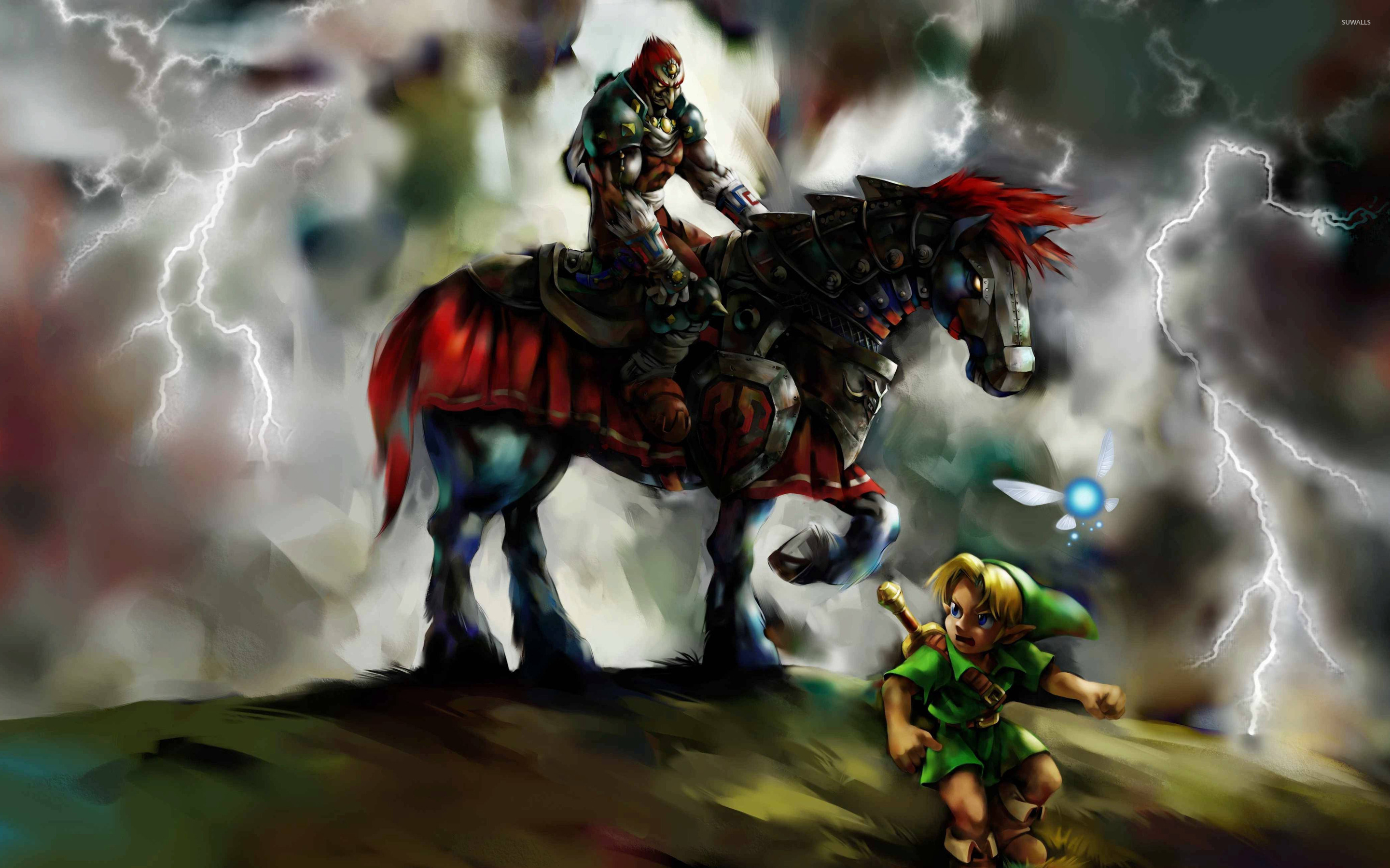 The Legend Of Zelda Ocarina Of Time 2 Wallpaper Game