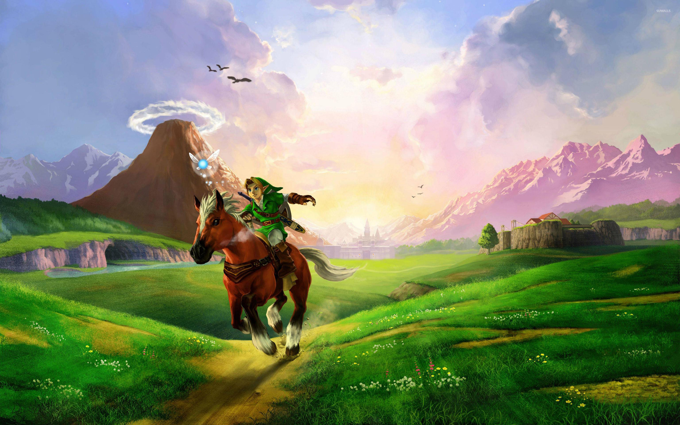 The Legend Of Zelda Ocarina Of Time Wallpaper Game Wallpapers