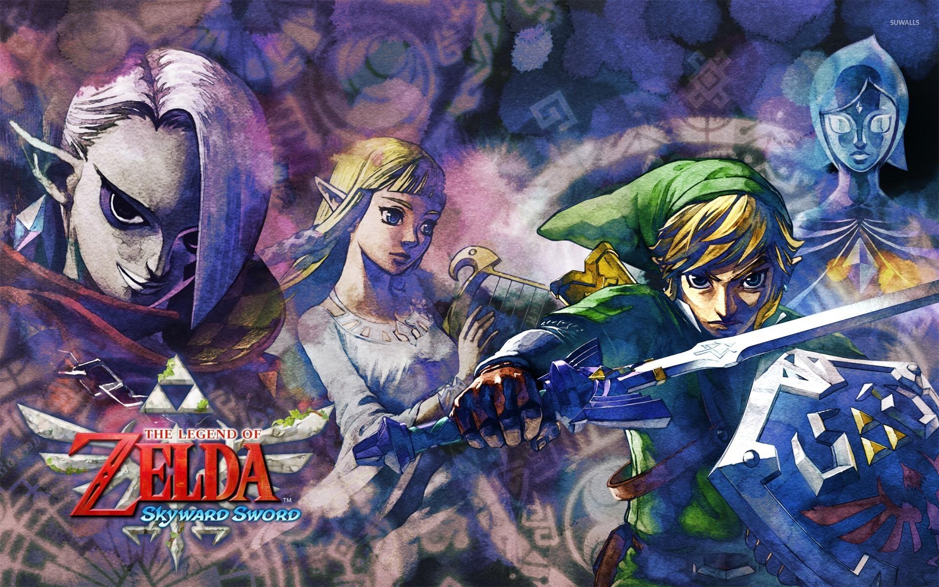 The Legend Of Zelda A Link Between Worlds Wallpaper Game