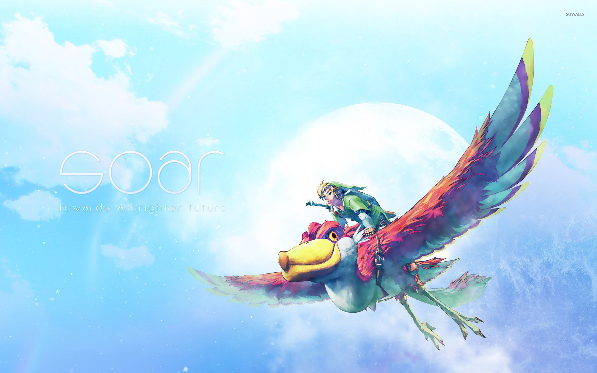 the legend of zelda: skyward sword [8] wallpaper - game wallpapers