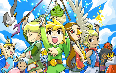 The Legend of Zelda: The Wind Waker wallpaper