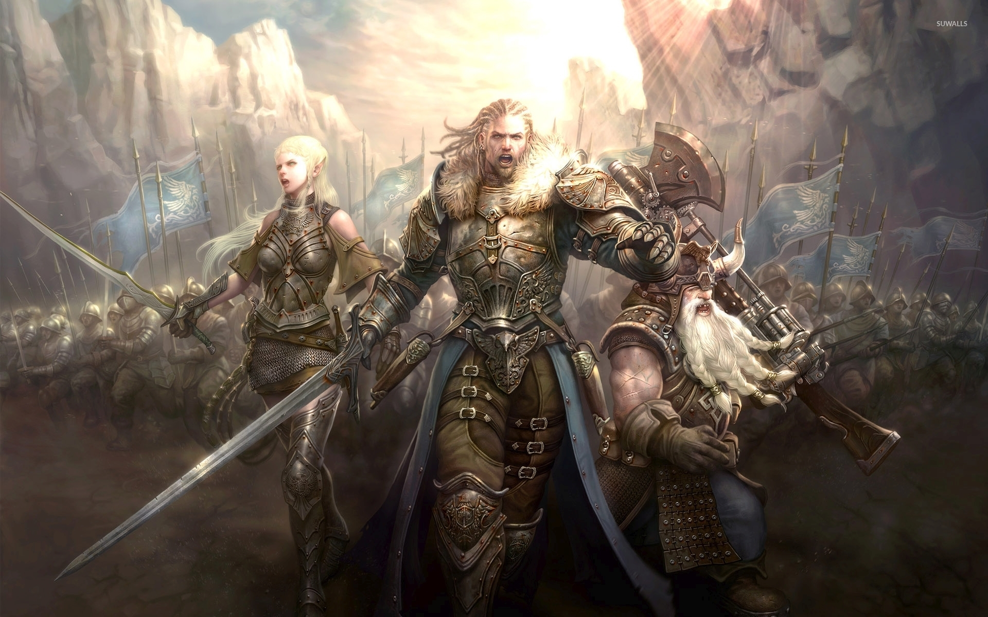 The Lord of the Rings Online wallpaper - Game wallpapers ...