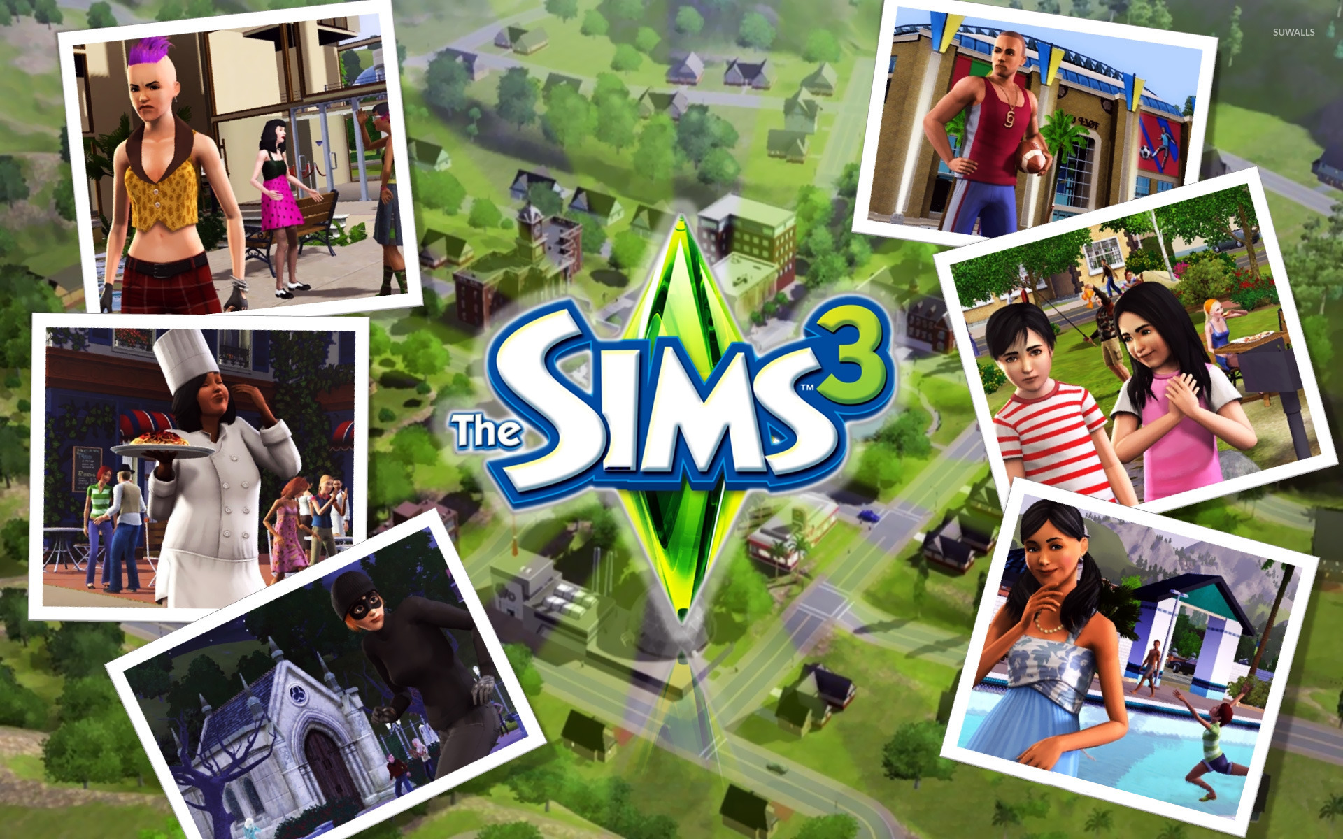 The Sims 3 Wallpaper Game Wallpapers 24867