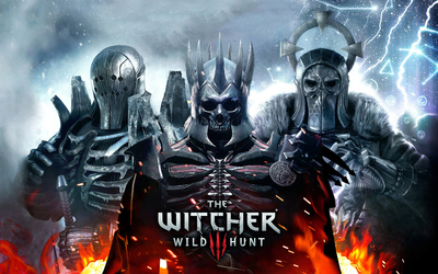 The Witcher 3: Wild Hunt warriors wallpaper