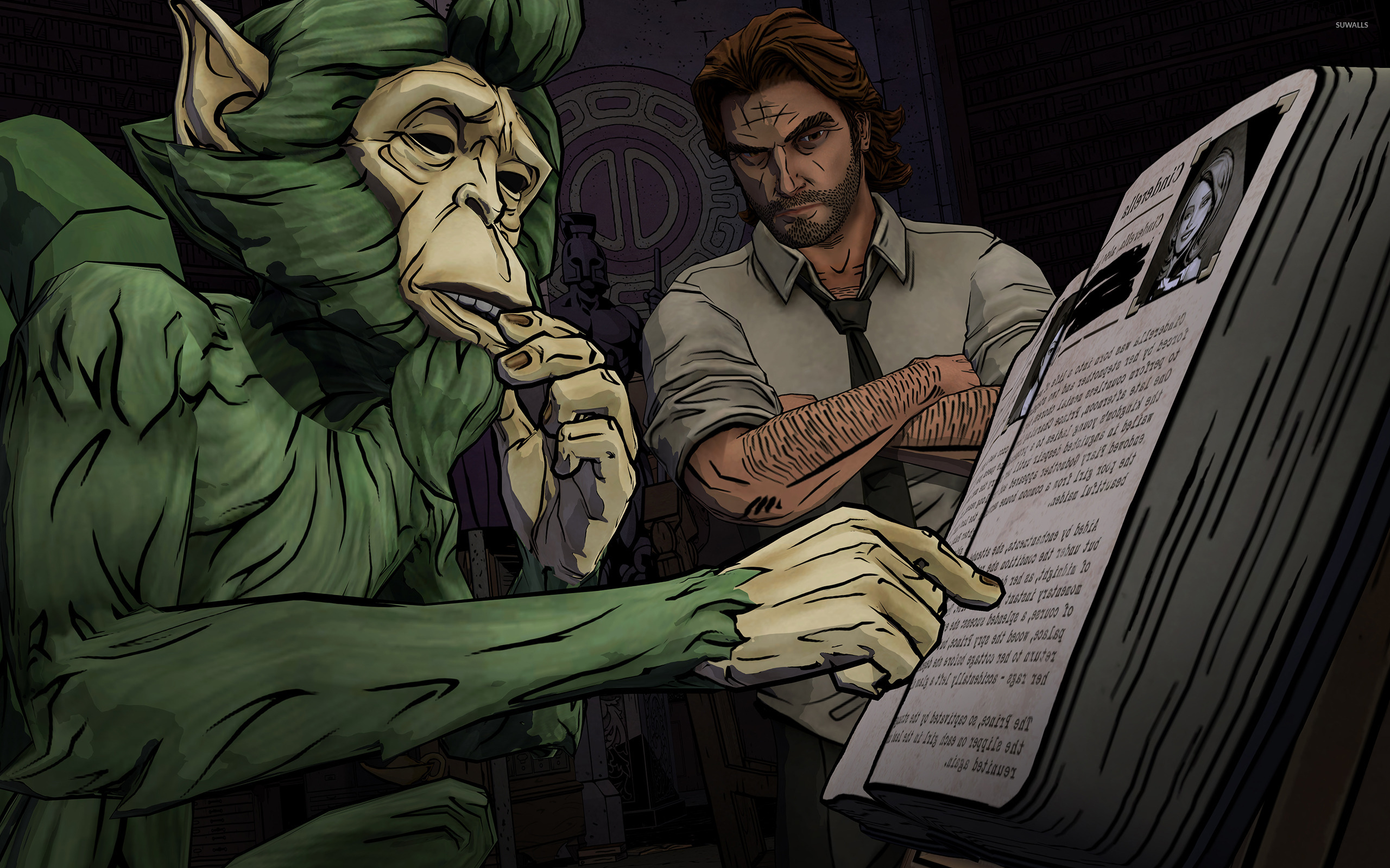 The Wolf Among Us 5 Wallpaper