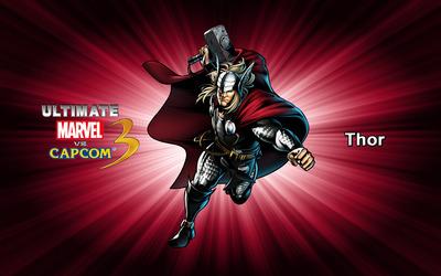 Thor - Ultimate Marvel vs. Capcom 3 wallpaper