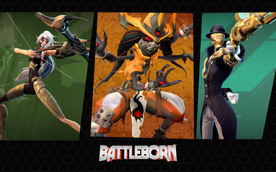 Thorn, Orendi and Marquis - Battleborn Wallpaper