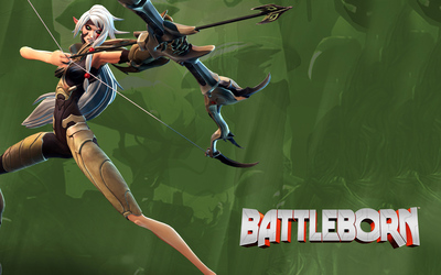 Thorn with her bow - Battleborn wallpaper