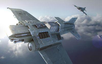 Thunderbolt - Warhammer 40,000 wallpaper