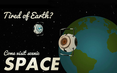 Tired of Earth? wallpaper