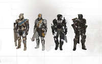 Titan armors - Destiny wallpaper 1920x1200 jpg