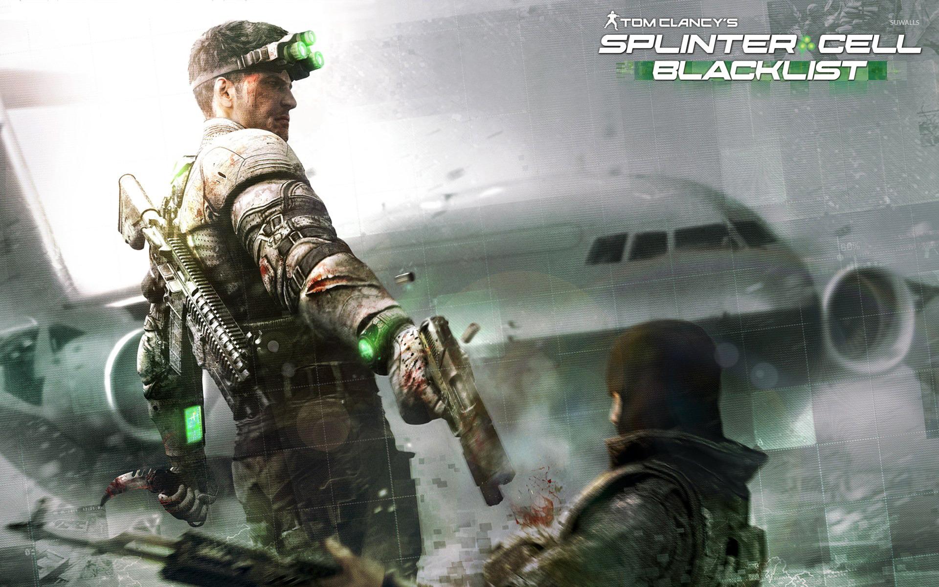 Tom Clancys Splinter Cell Blacklist wallpaper Game