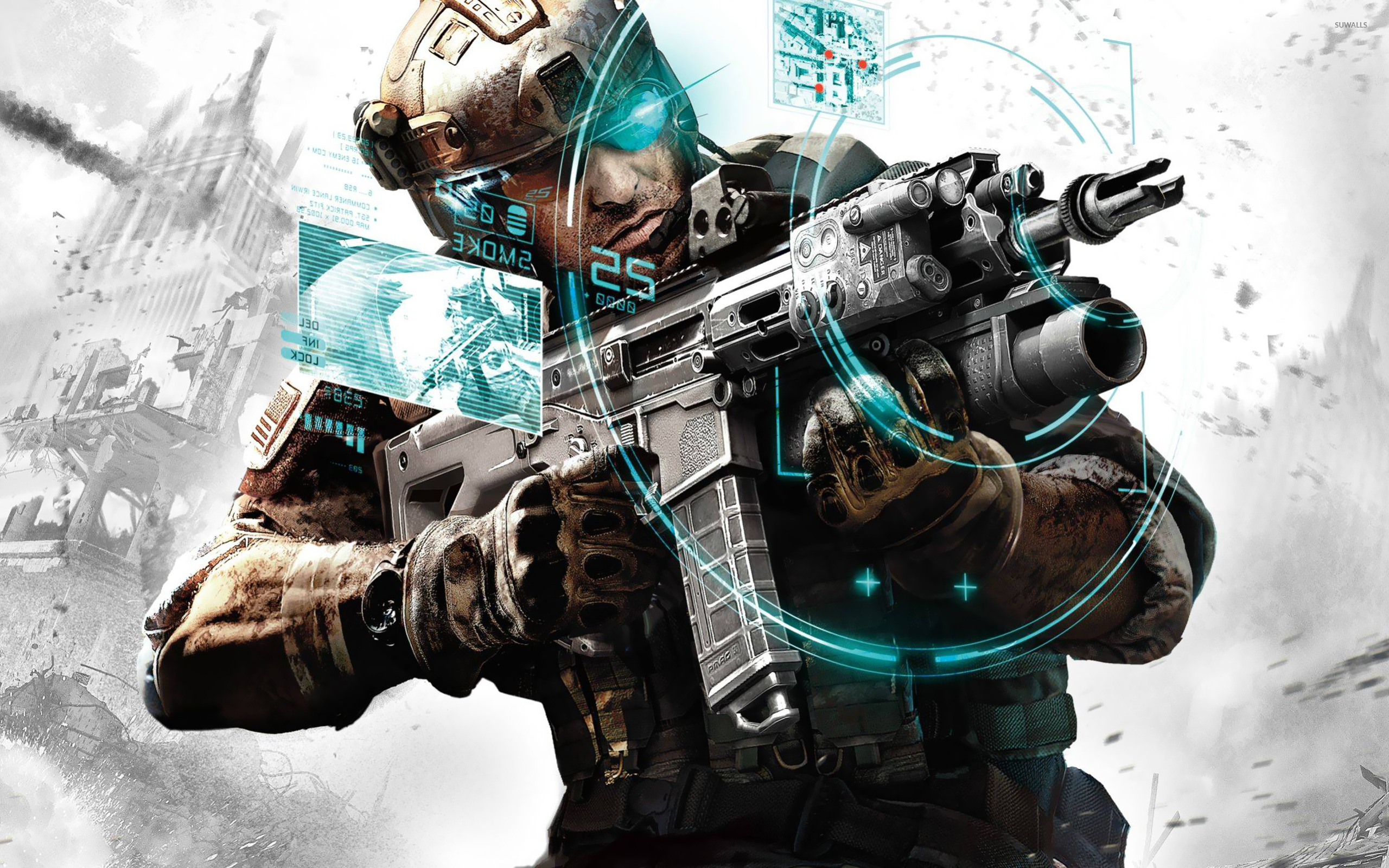 Tom Clancys Ghost Recon 3 Wallpaper