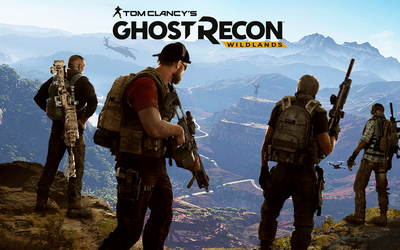 Soldiers protecting the canyon - Tom Clancy's Ghost Recon: Wildl wallpaper