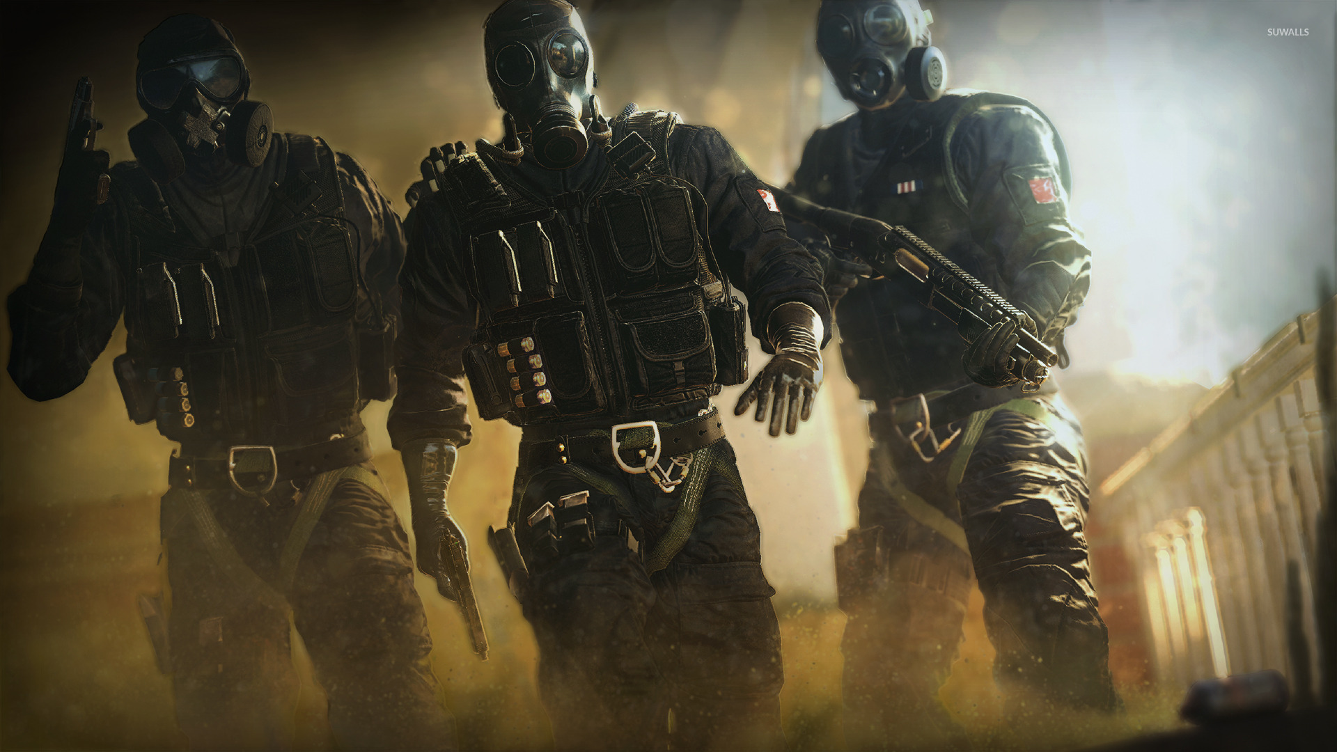 Tom Clancy S Rainbow Six Siege Wallpaper Game Wallpapers 44841