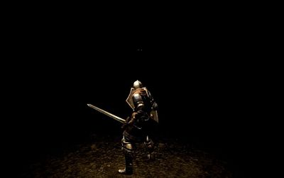 Tomb of the Giants - Dark Souls wallpaper